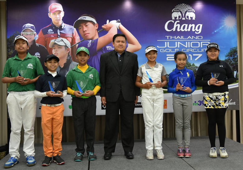 CHANG Thailand Junior Golf Circuit 2017@Alpine Golf Resort Chiang-Mai