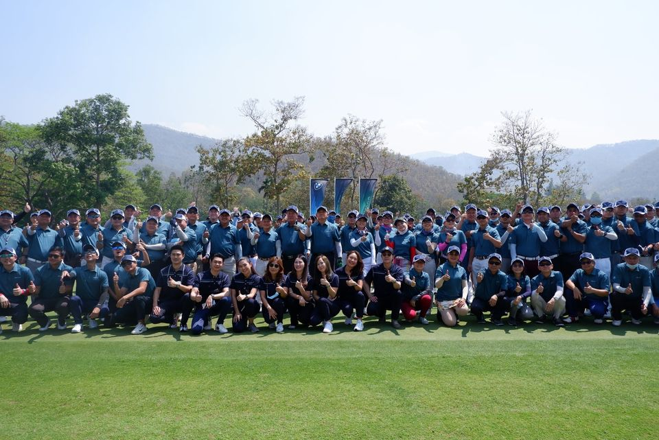BMW GOLF CUP 4 March 2021 at Alpine Golf Resort Chiangmai